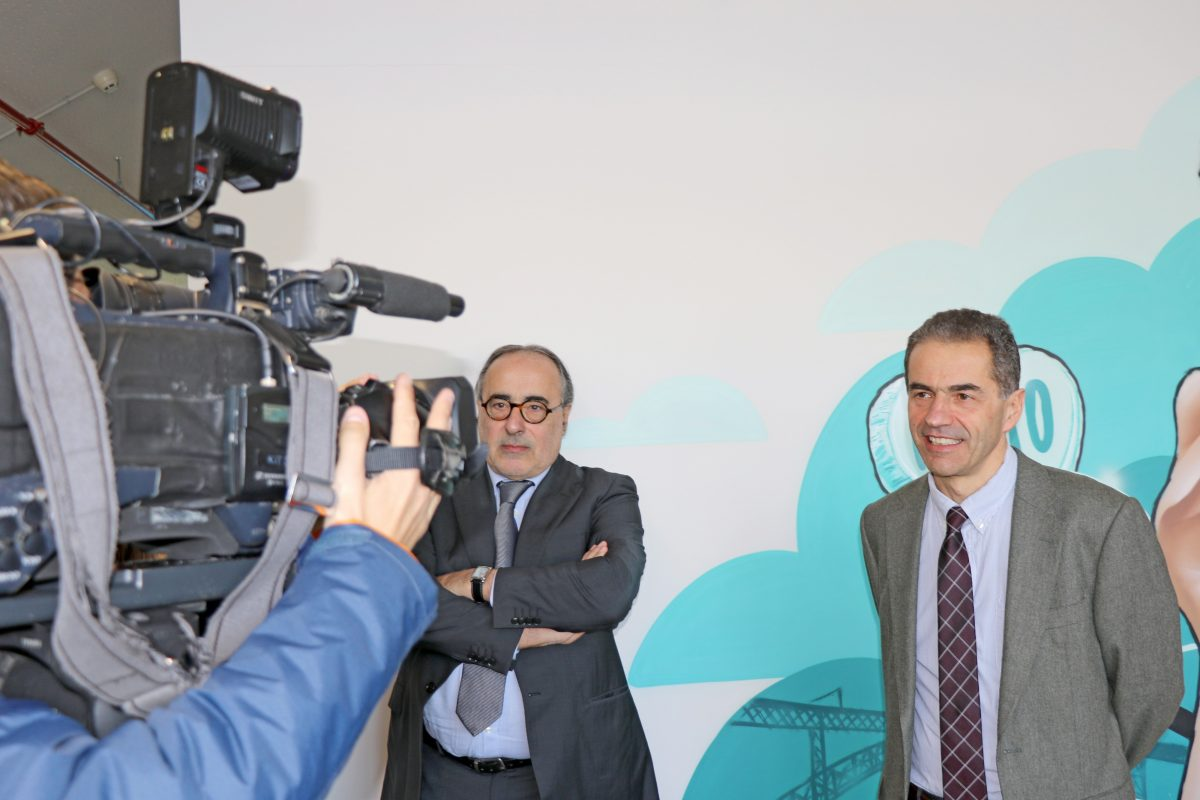 Photo of Director General of the European Commission and Minister of Science, Technology and Higher Education visit Altran