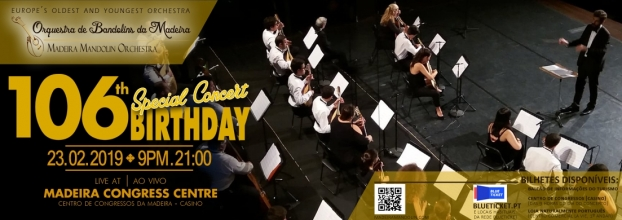 Photo of 23 FEV. | 106th Anniversary of the Bandolins Orchestra of Madeira | Special Concert
