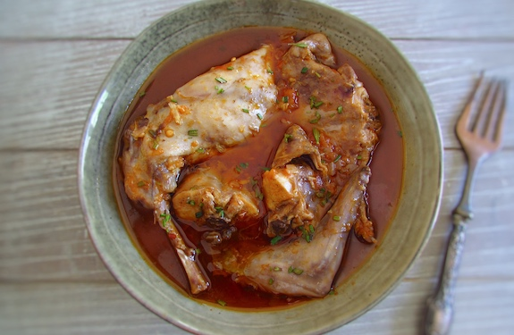Photo of Stewed Rabbit with spices