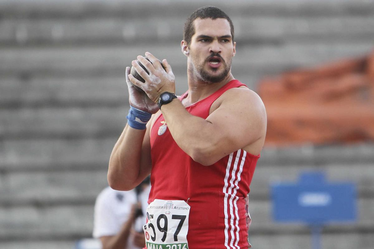 Photo of Francisco Belo qualified for the final of the shot put