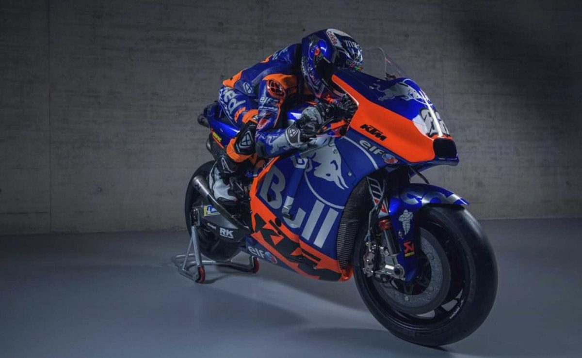Photo of Miguel Oliveira's new bike for MotoGP was presented