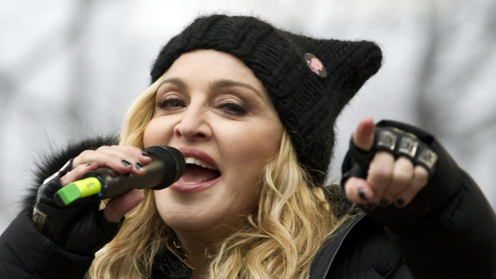 Photo of Madonna joined fadista Fábia Rebordão … and the result was this