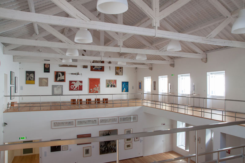 Photo of Atelier-Museu Júlio Pomar had 7,536 visitors in Lisbon and 15,000 visitors in the Côa