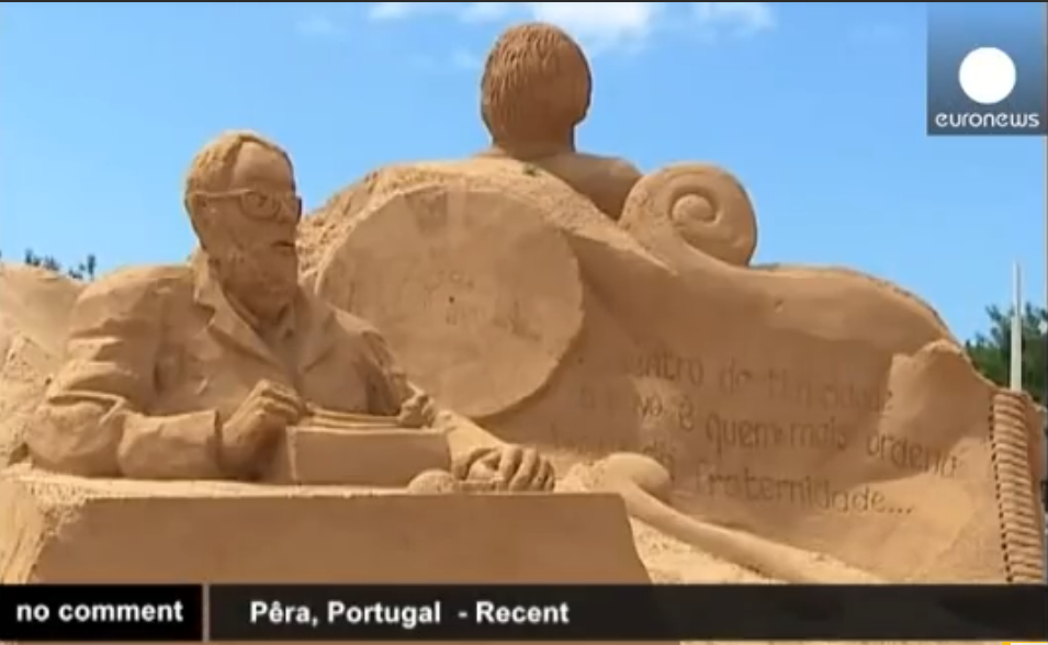 Photo of Annual International Sand Sculpture Festival in Portugal