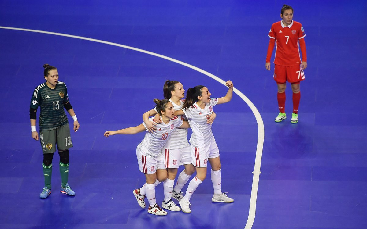 Photo of Spain is the first finalist of the European women's futsal