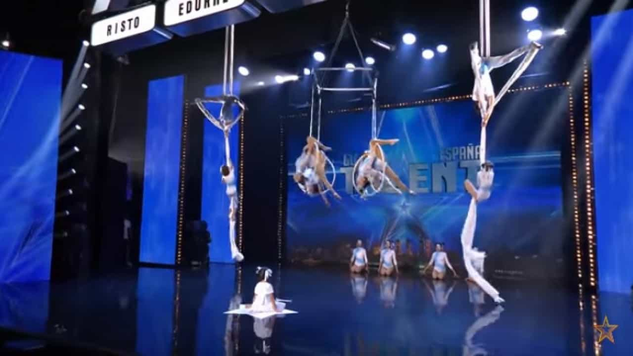 Photo of Portuguese acrobats went to 'Got Talent' Spain and charmed jury