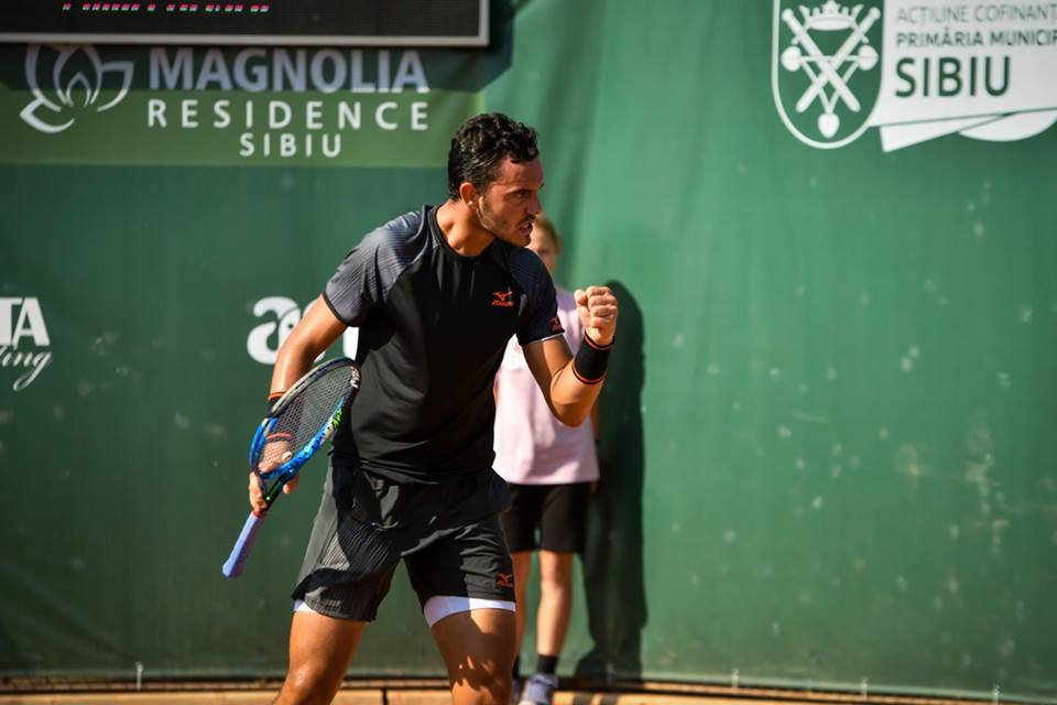 Photo of Gonçalo Oliveira in the 'eighth' of Chengdu challenger