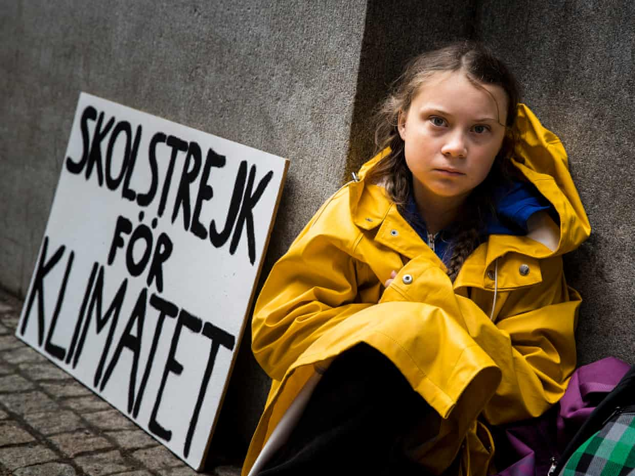 Photo of Greta Thunberg at 16 mobilizes the world for the planet