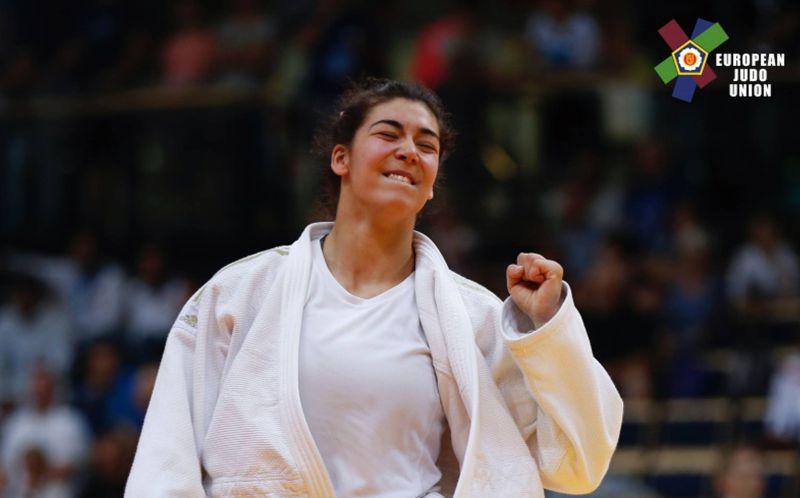 Photo of Patrícia Sampaio wins bronze at -78 kg at the Moroccan Grand Prix