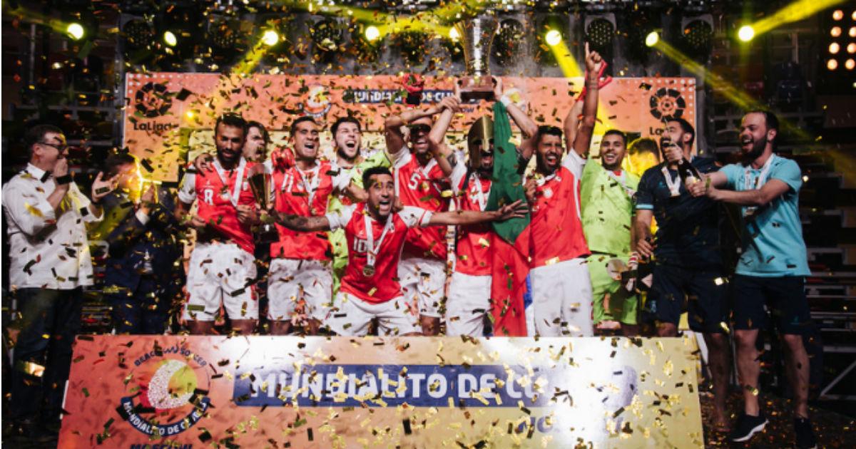 Photo of Sporting de Braga conquers Mundialito of beach soccer