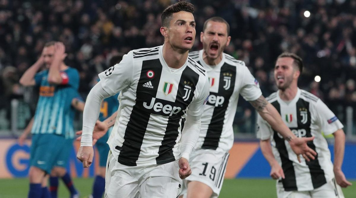 Photo of Cristiano Ronaldo nominated for best striker of the Champions League