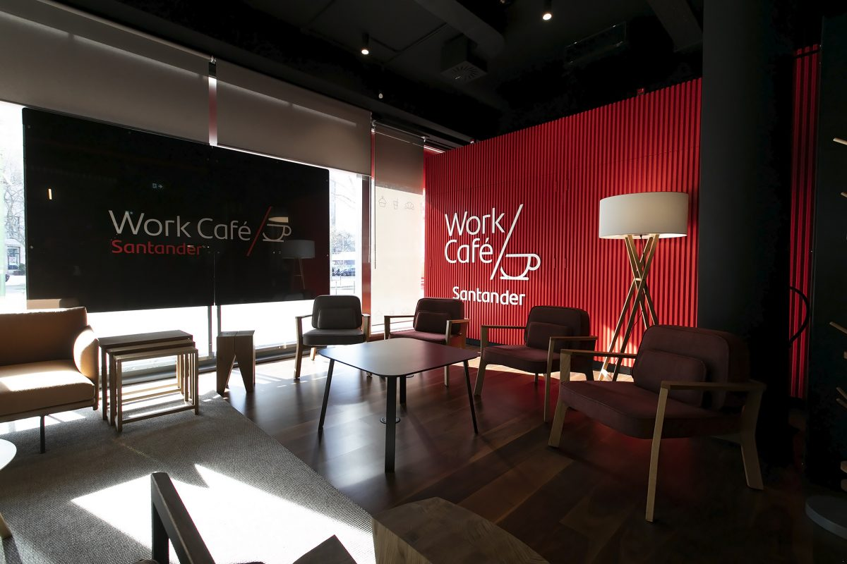 Photo of Santander inaugurates Work Café: A counter that is also a cafeteria