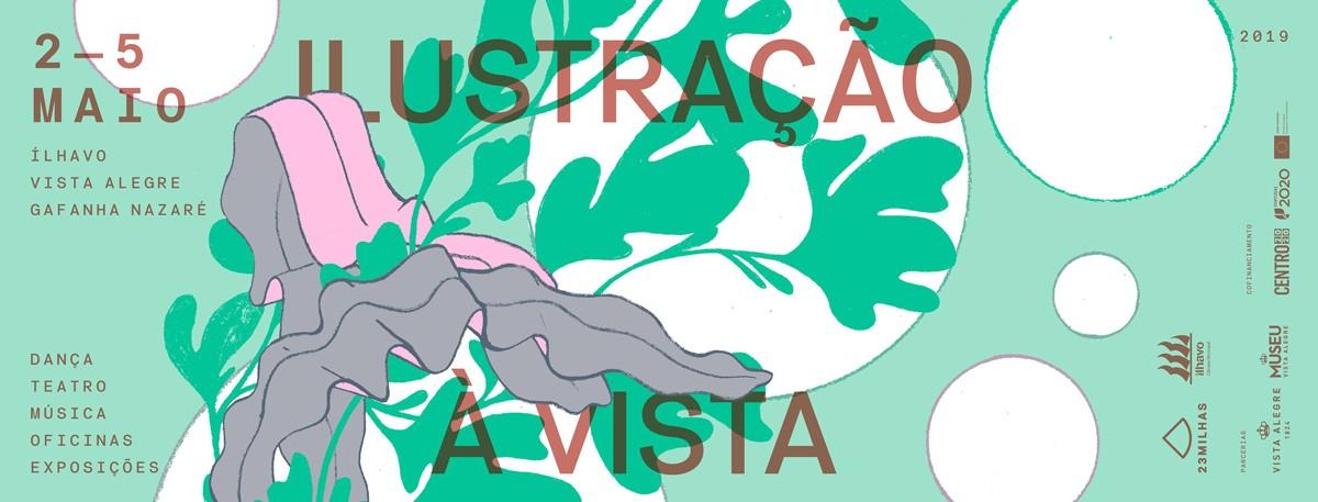 Photo of Festival Illustration à Vista mounts four-story scaffolding in Ílhavo
