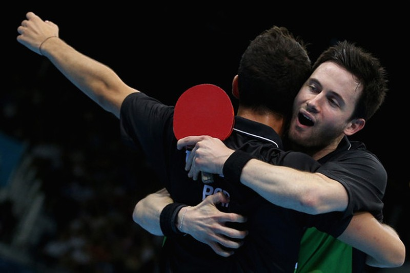 Photo of João Monteiro and Tiago Apolónia win the bronze medal at the World Cup