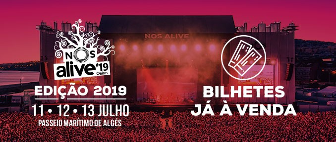 Photo of Confirmation day for NOS Alive'19