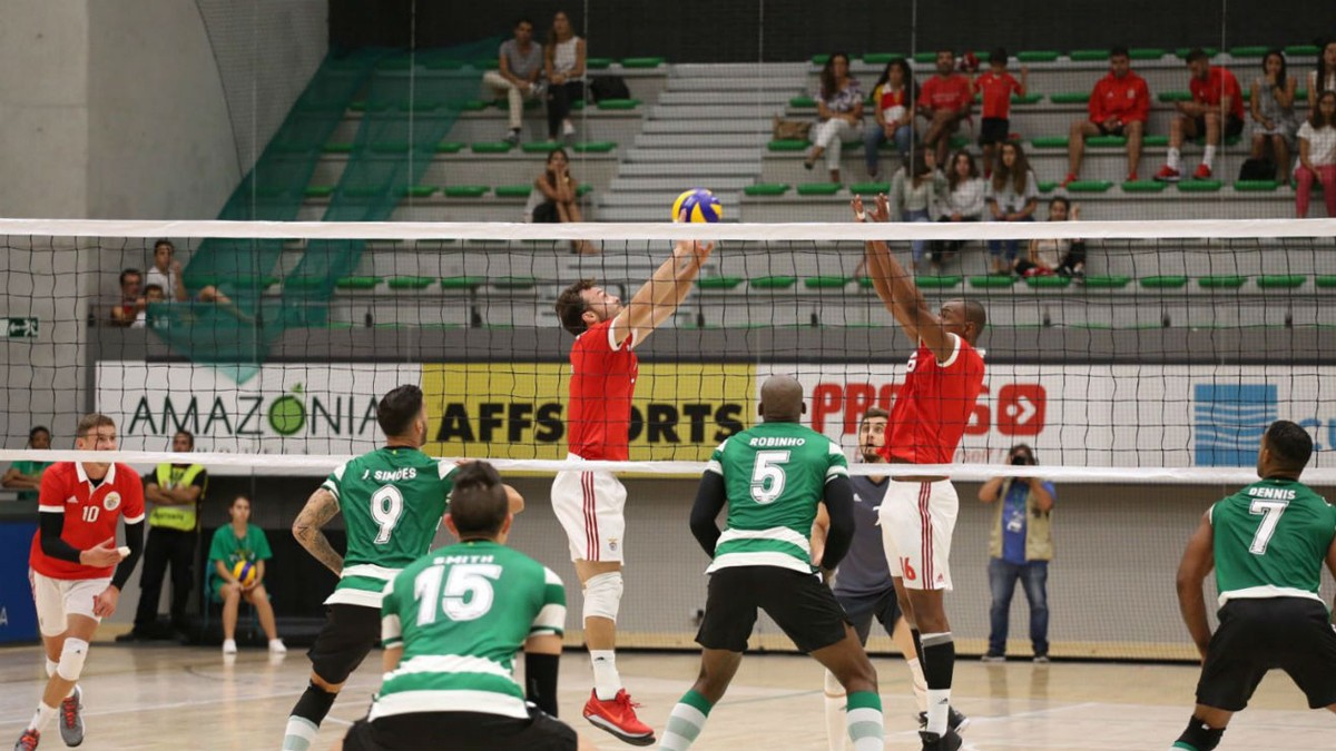Photo of Benfica becomes national champion of volleyball in the house of Sporting