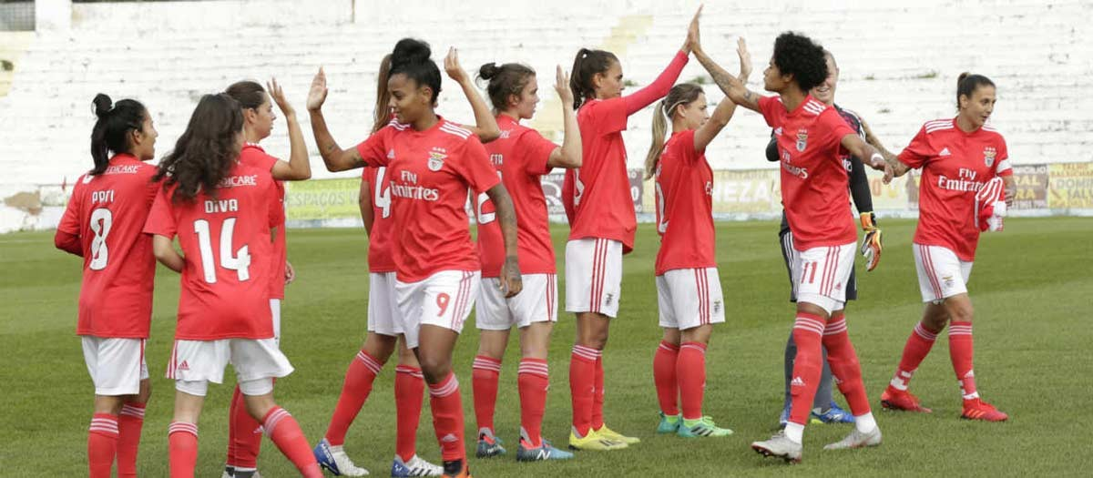 Photo of Benfica already takes 38 goals in three women's league games
