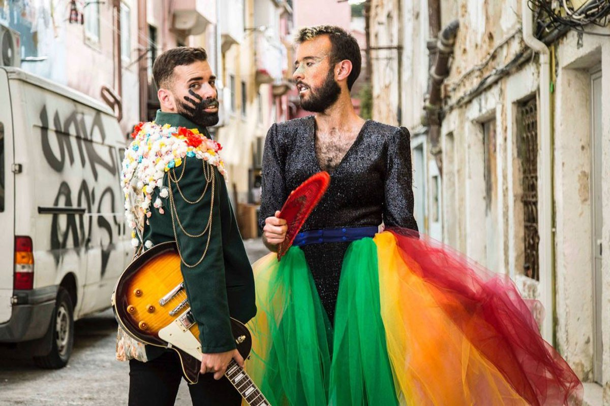Photo of 'Namorico do André' is the first single from Fado Bicha