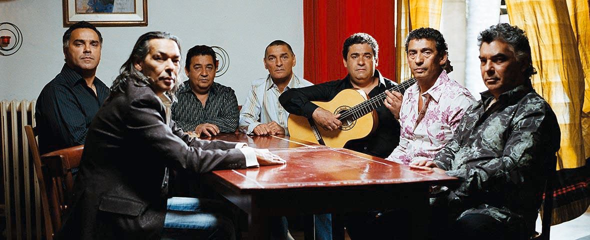 Photo of Gipsy Kings, Borel Nego, and Ana Moura in the Sanjoaninas in the Azores