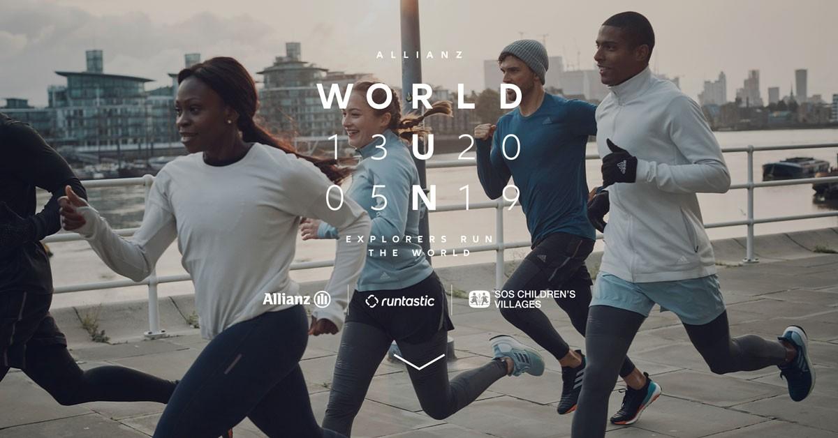 Photo of Kicks off the 4th edition of the Allianz World Run
