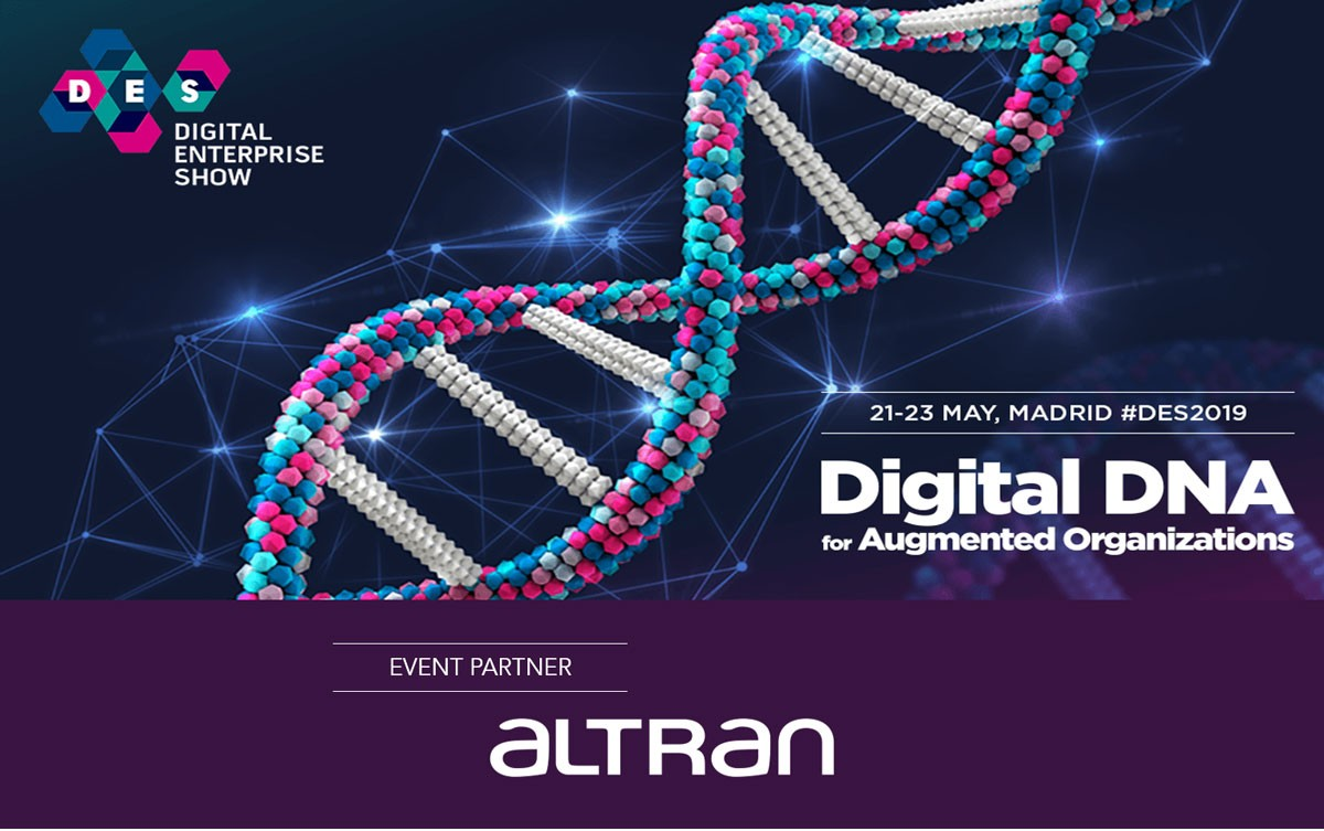 Photo of Altran is present at the 2019 Digital Enterprise Show