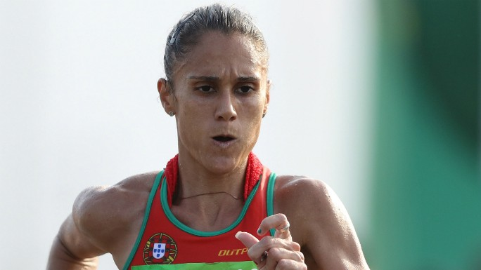 Photo of Ana Cabecinha in fifth place