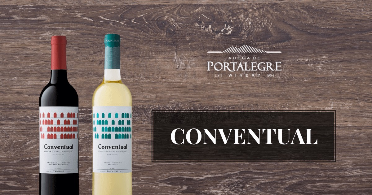 Photo of Conventual Tinto 2017, bronze at the Decanter World Wine Awards