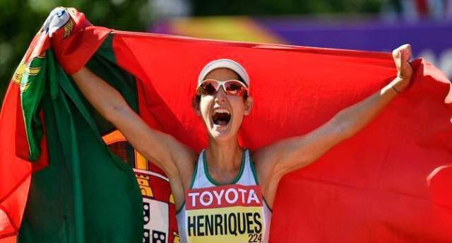 Photo of Bronze medal in the European Cup for Inês Henriques