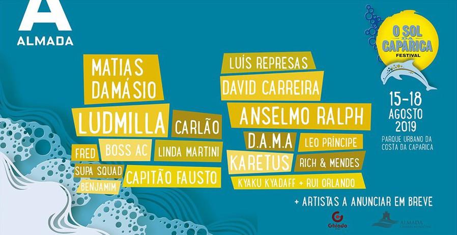 Photo of The Sol da Caparica the festival of music in Portuguese