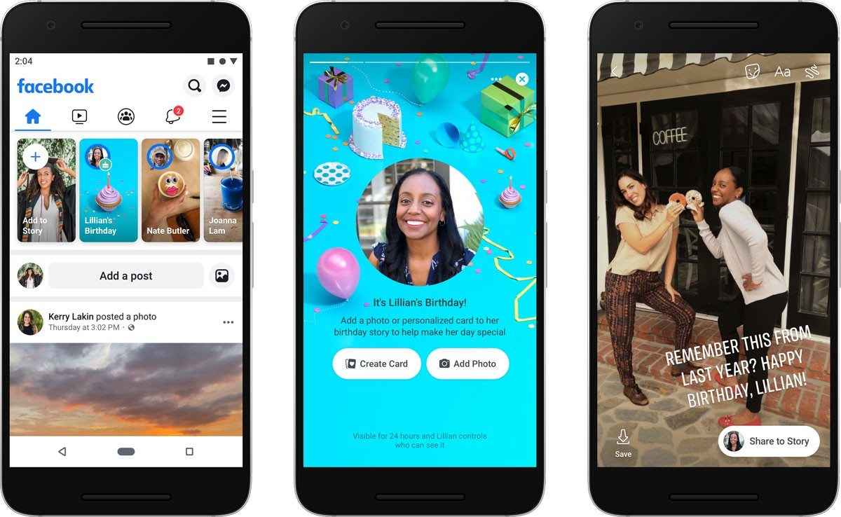 Photo of Facebook Stories cheers birthdays with new feature and offers