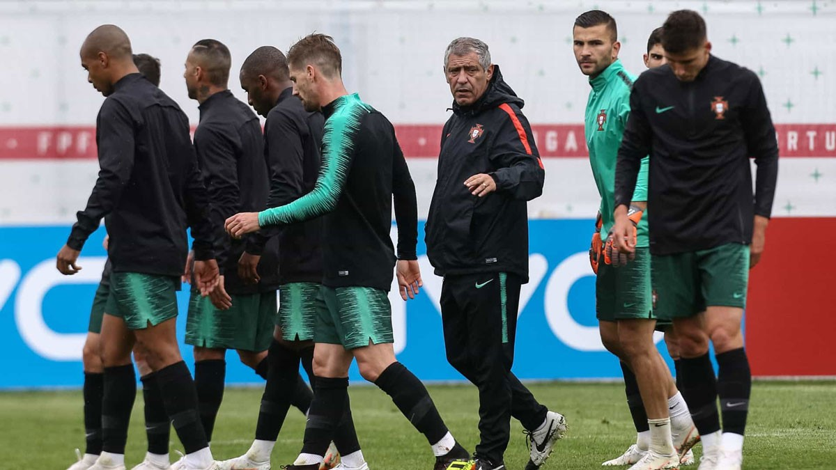 Photo of Portugal holds the last training session in Belgrade