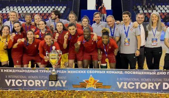 Photo of Portugal win's the Futsal Victory Tournament in Russia