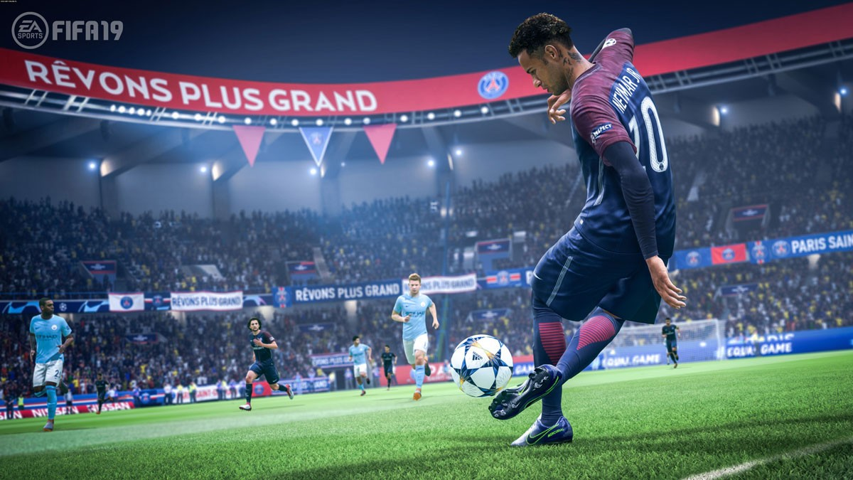 Photo of FIFA 19 amateur tournament