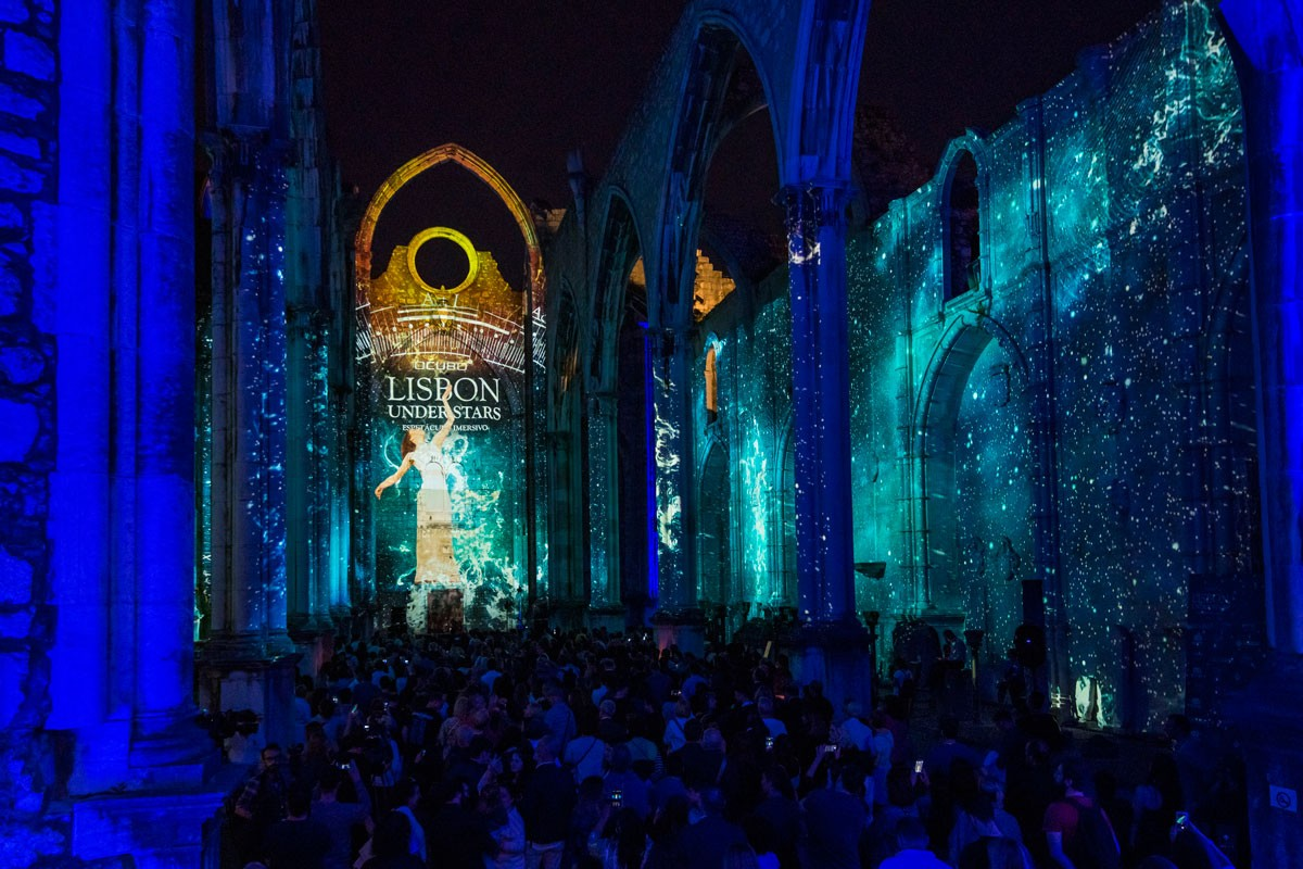 Photo of Lisbon Under Stars returns to the ruins of Carmo