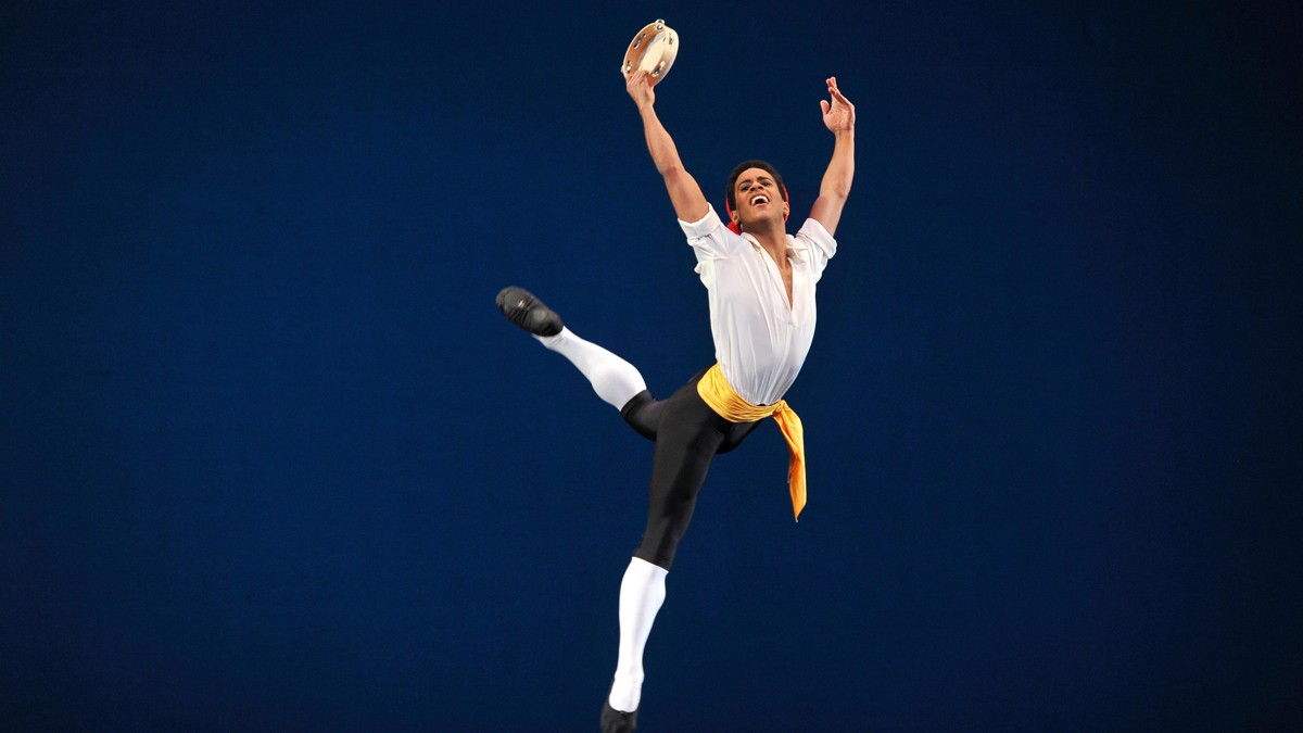 Photo of Marcelino Sambé, principal dancer of the Royal Ballet in the United Kingdom