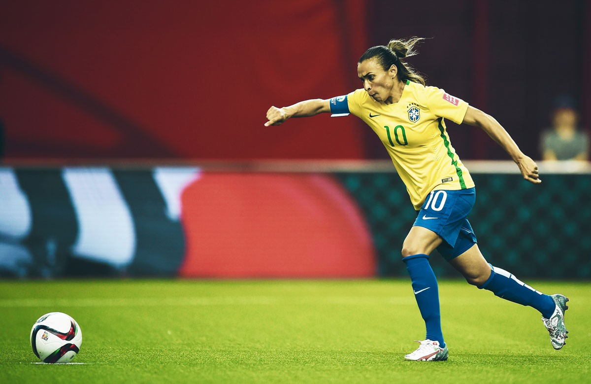 Photo of Marta beats new record and leads Brazil to the 'eights'