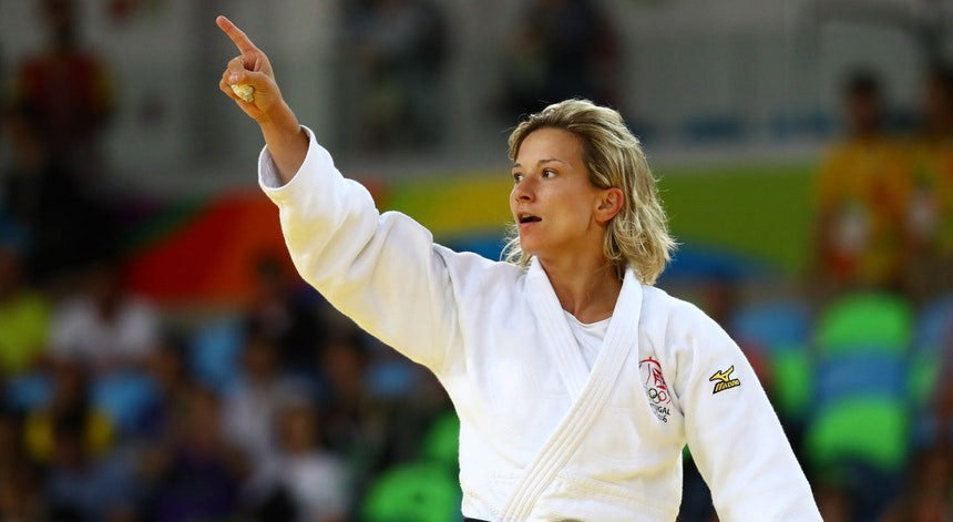 Photo of Telma Monteiro loses in the Worlds against the Olympic champion