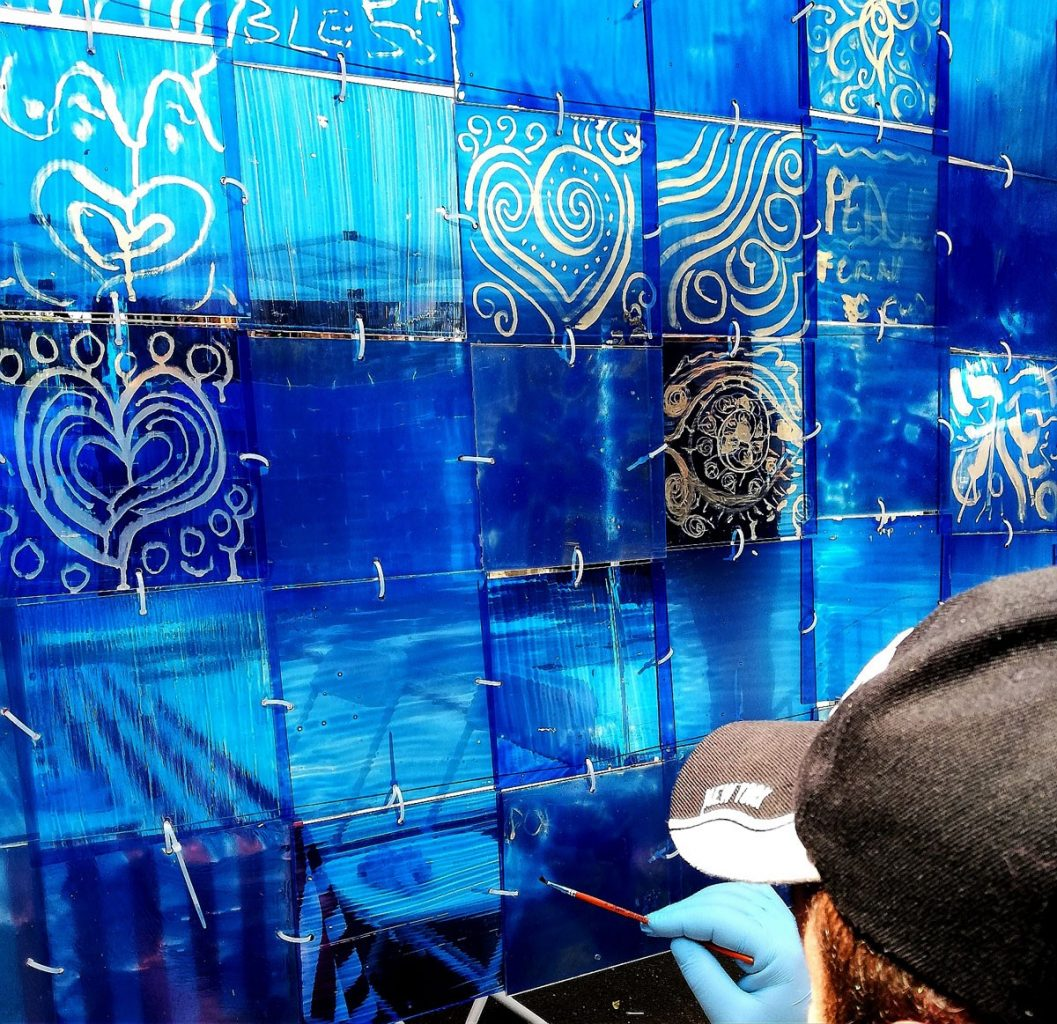 Photo of Vitral de azulejos will be in the consulate of Portugal in New York