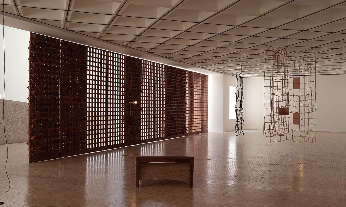 Photo of Exhibition of Leonor Antunes exceeds 7,200 visitors