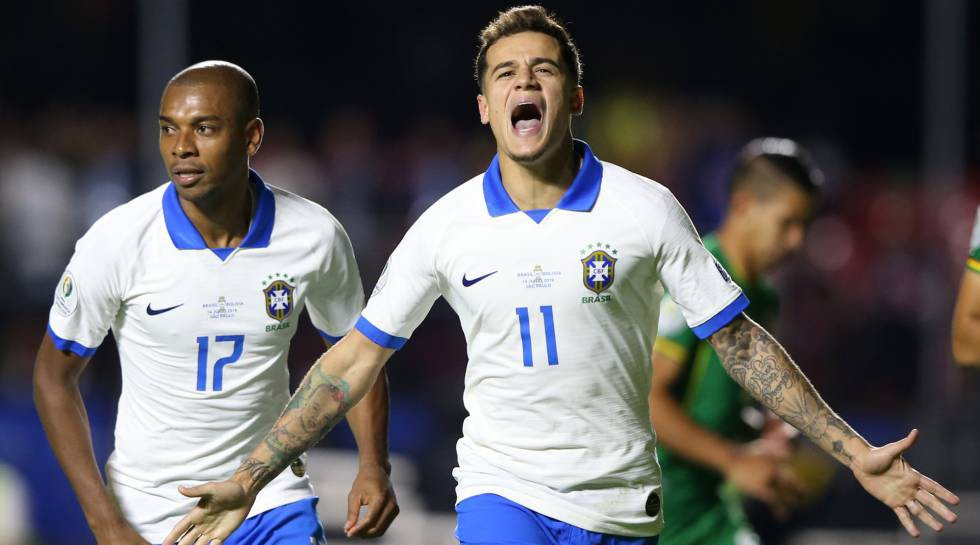 Photo of Brazil beat Bolivia with 2 goals from Coutinho