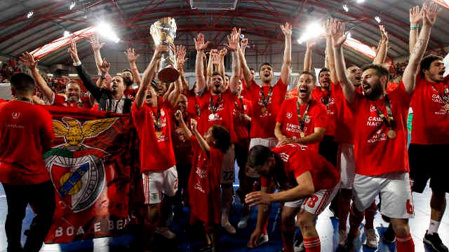 Photo of Benfica futsal champion