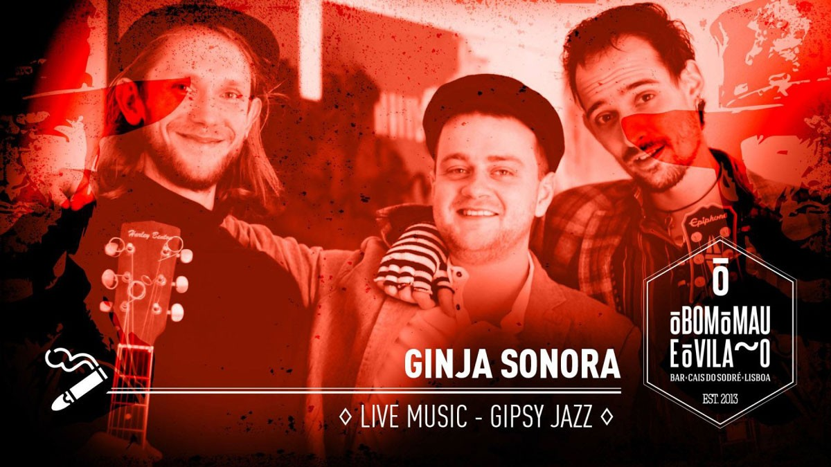 Photo of Ginja Sonora | Live Music – Gipsy Jazz