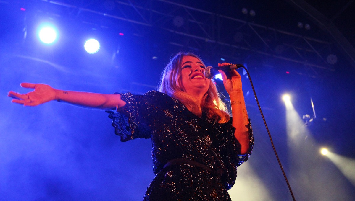 Photo of Gisela João at Fado Food Fest – Seixal 2019
