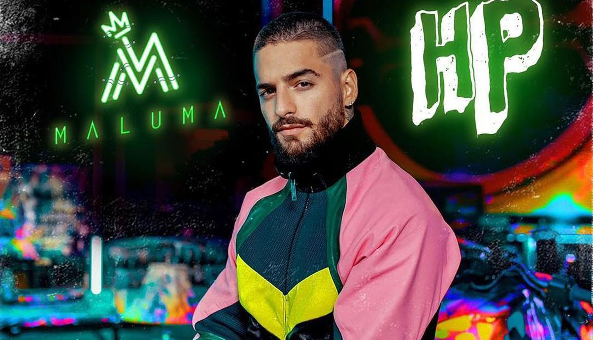 Photo of Maluma in Lisbon