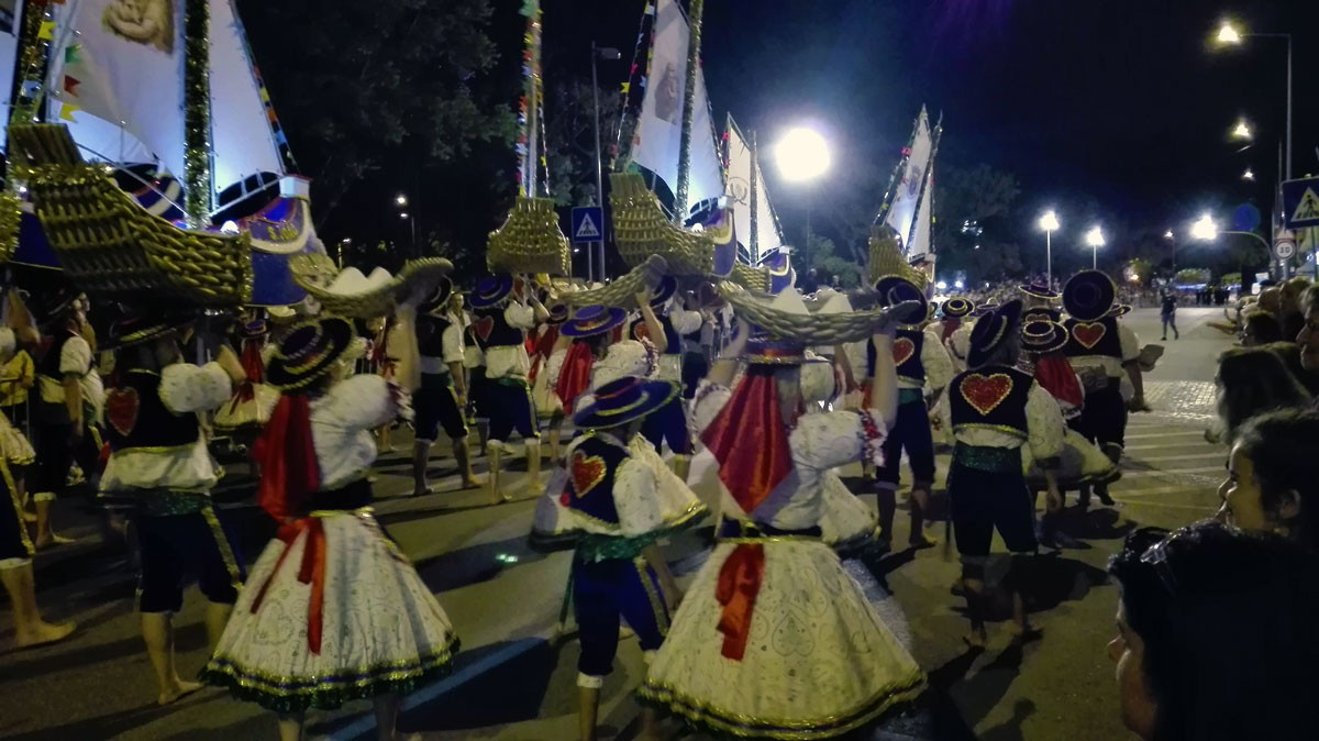 Photo of Marchas dance through the streets of Setúbal