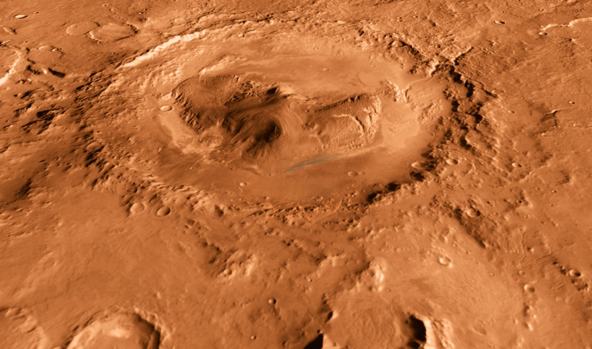 Photo of New crater discovery on surface of Mars