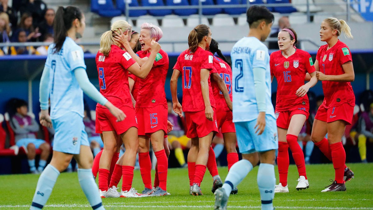 Photo of US breaks scoring record in emphatic Women's World Cup display