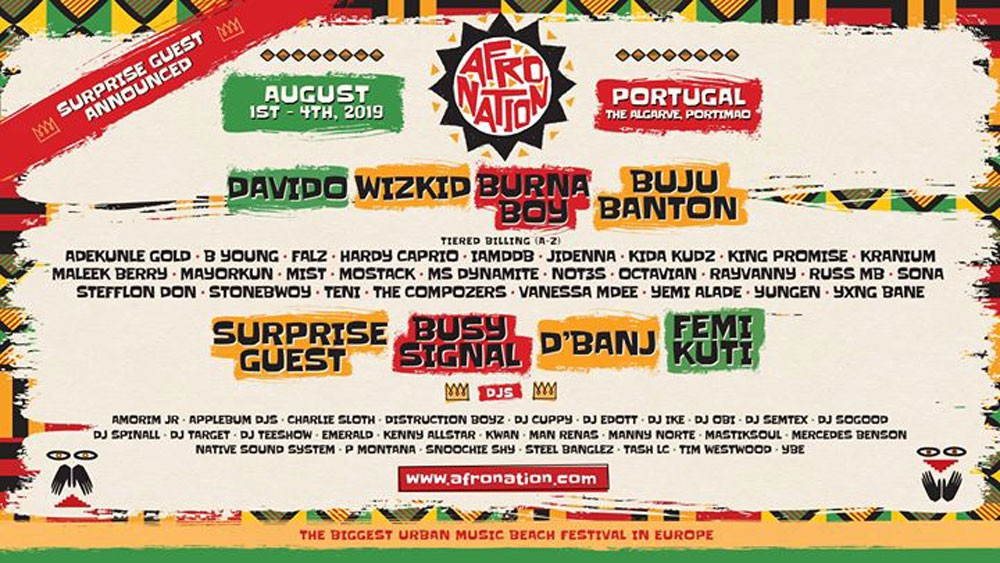 Photo of Afro Nation Festival 2019 (Portugal)