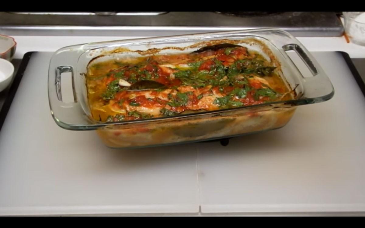 Photo of Roasted Cod Portuguese-Style   Recipes