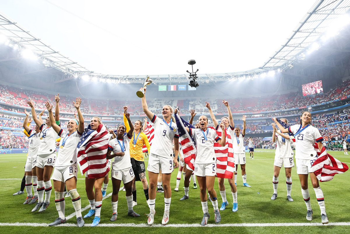 Photo of USA wins Women's World Cup